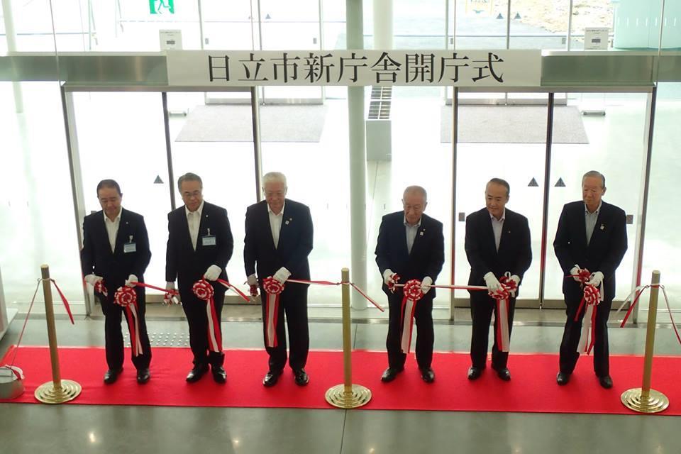 新庁舎開庁式